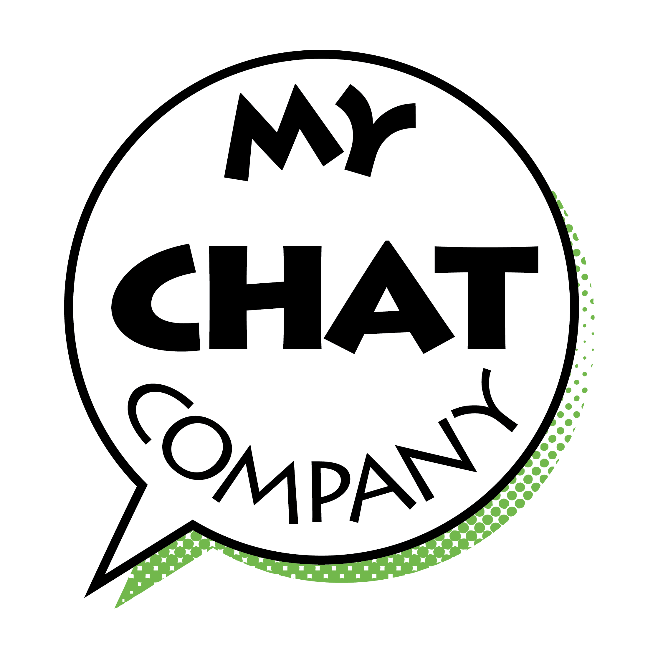 My Chat Company Logo - Spanish Lessons Online today for work and play!