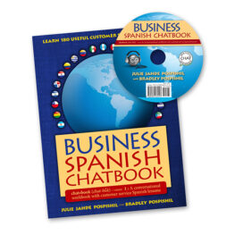 Spanish chatbook & CD for professionals - Spanish lessons for business