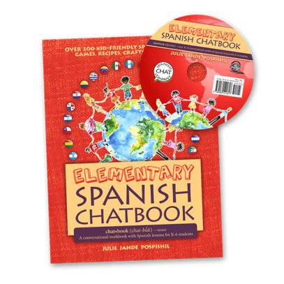 Elementary Spanish Chatbook and CD - Spanish Lessons for children