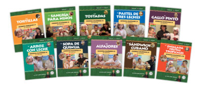 My Chat Company's Cookbooks: Spanish lessons for kids