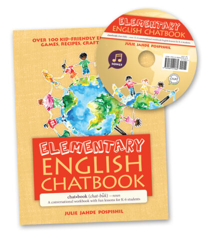 My Chat Company's Elementary Chatbook w- CD: English lessons for kids